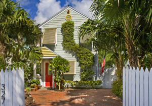A charming retreat just a block from Duval Street.