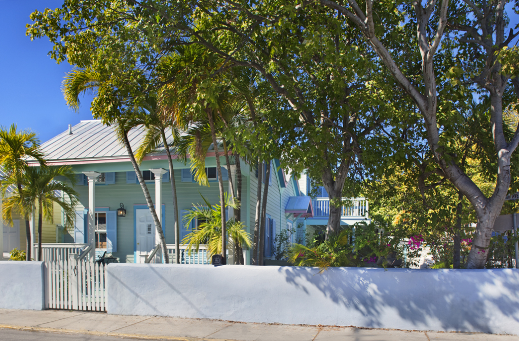 You will love this charming Key West eyebrow house.