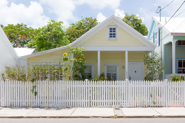 We love 311 Truman Avenue's white picket fence and the inviting front porch.