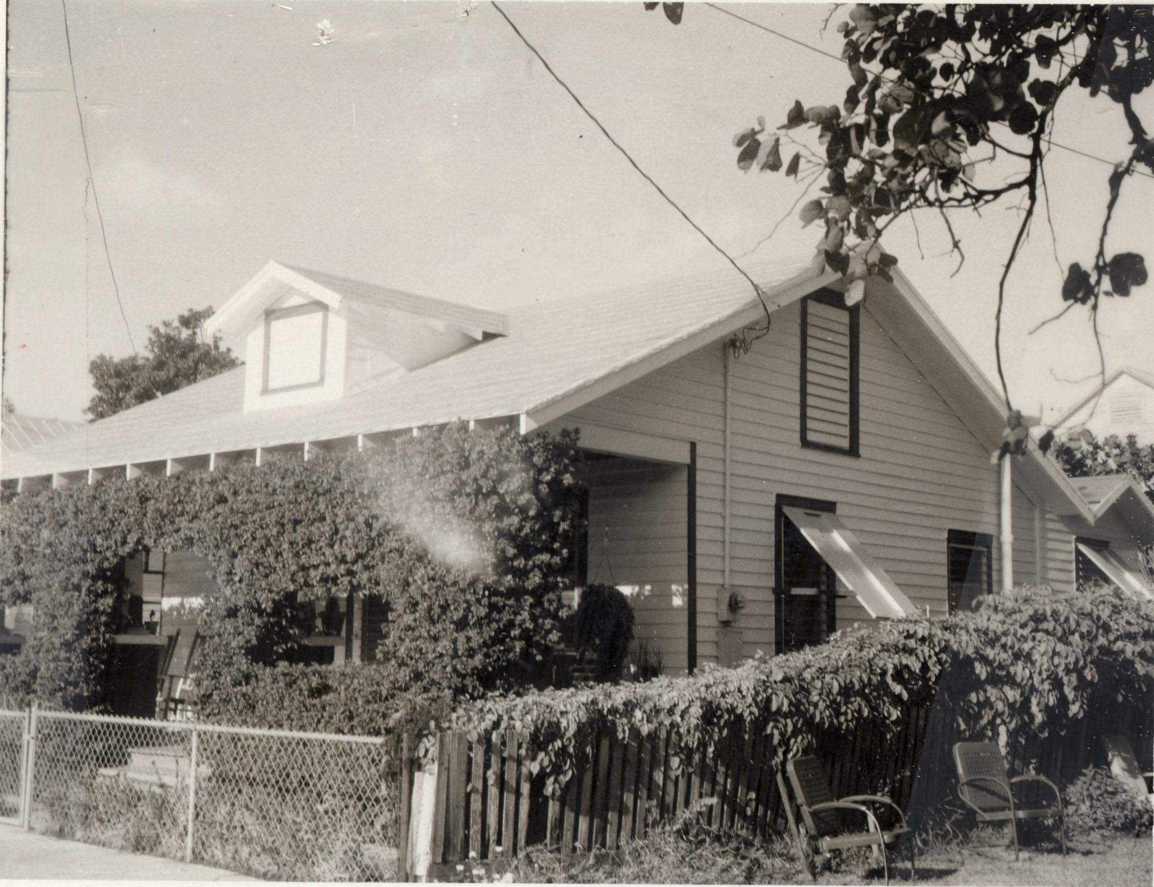 Photo taken by the Property Appraiser's office c1965; 813 Frances St.; built 1920's; Tract 6, Sqr 4, Pt Lot 10 & 11