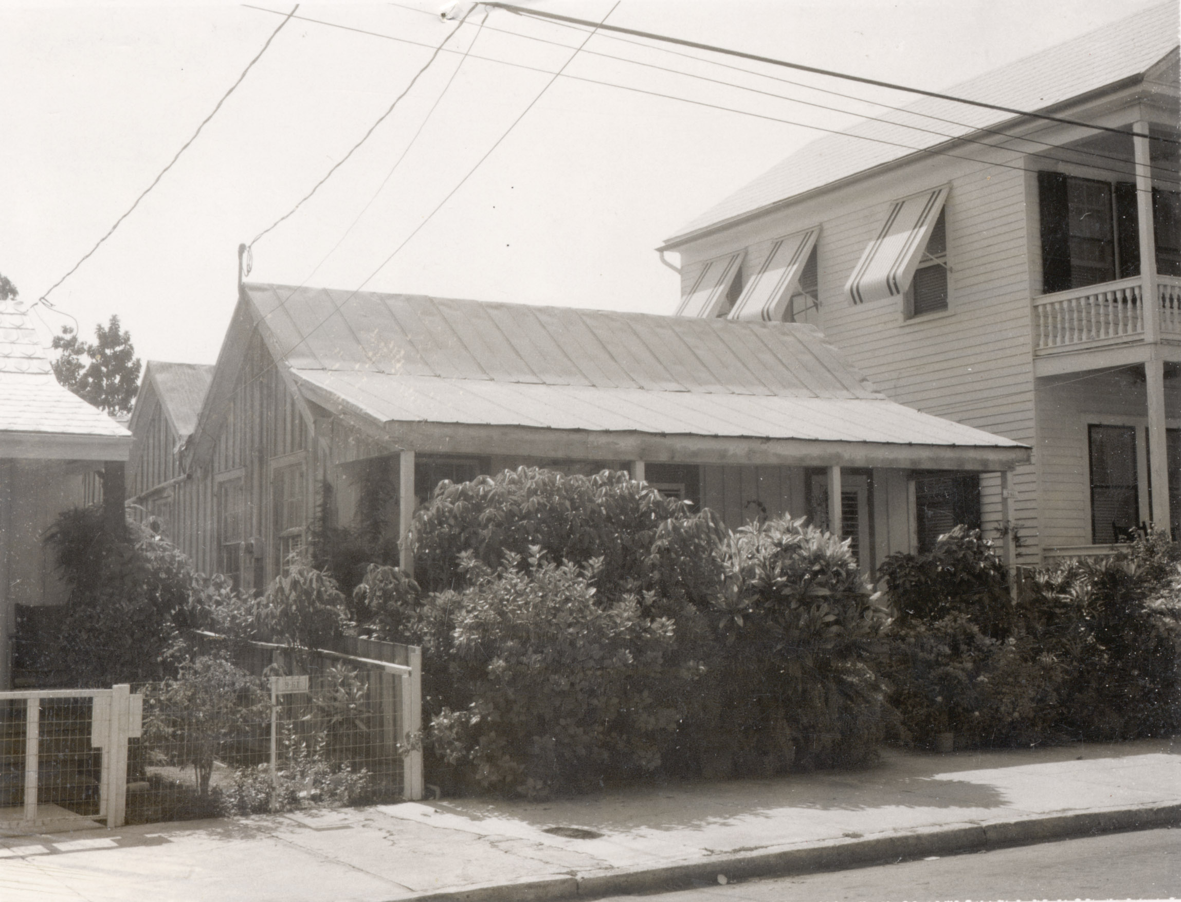 Photo taken by Prpoerty Appraiser's office c1965; 530 Grinnell Street; built 1923; Sqr 46, Pt Lot 1
