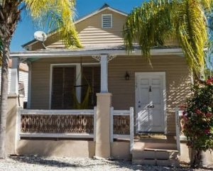 1127 Packer Street before it was colored Key West.