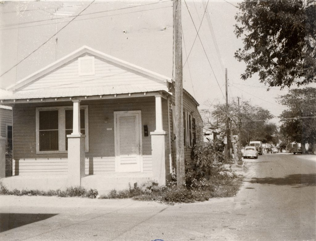 Photo taken by the Property Appraiser's office c1965; 1127 Packer St.; built 1928; Tract 13, Sqr 5, Pt Lot 14